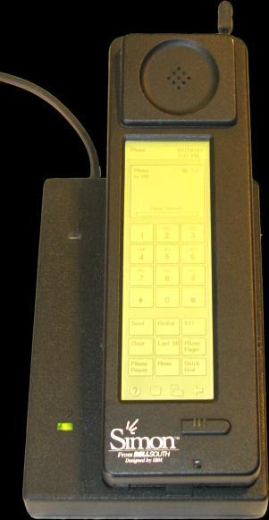 Pierwszy smartfon świata poznaj SIMON -a