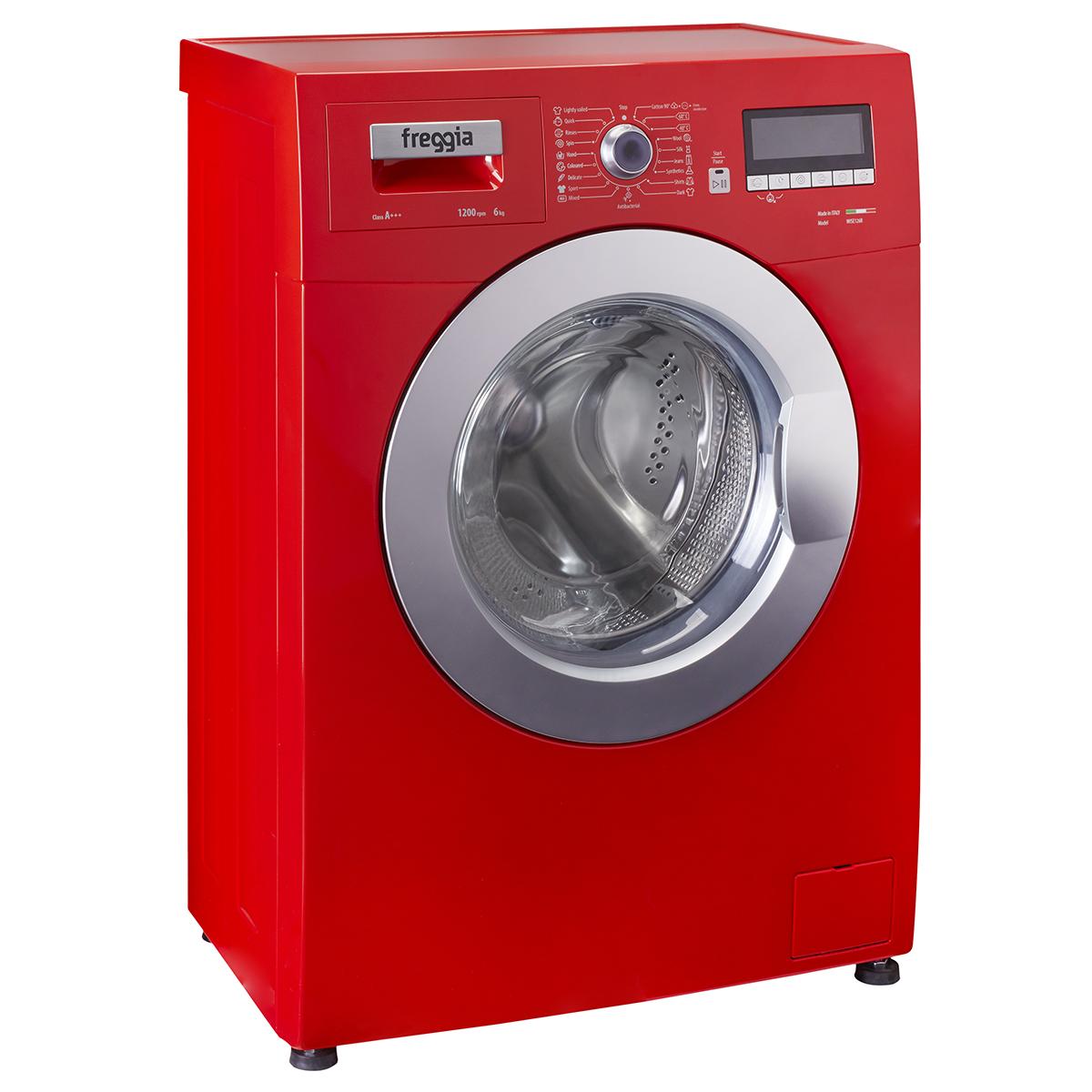 Kolorowe pralki – hit w aranżacji nowoczesnych łazienek