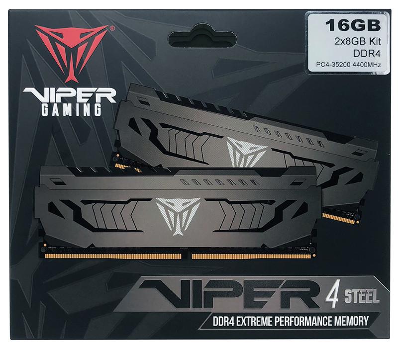 Viper Steel DDR4 – czysta moc w starym stylu